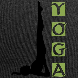 Yoga Shoulder stand - Bonnet en jersey