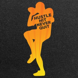 Football: Hustle hit Never Quit - Jersey Beanie