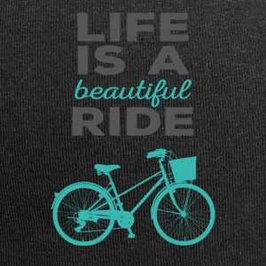 Bicycle: Life is a beautiful ride - Jersey Beanie
