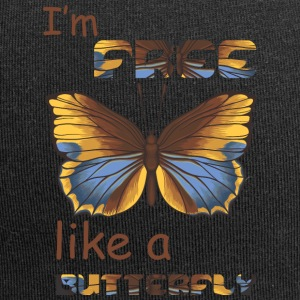 i m free like a butterfly - Jersey Beanie