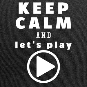 Keep Calm And Let's Play - Jersey-Beanie