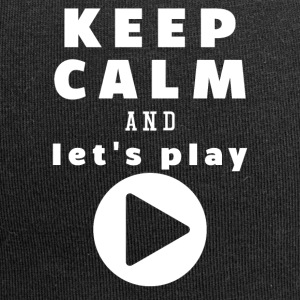 Keep Calm And Lad os Play - Jersey-Beanie