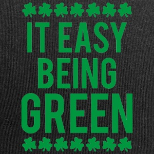 Ireland / St. Patrick's Day: It's Easy Being Green - Jersey Beanie