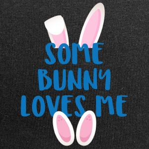 Easter / Easter Bunny: Some Bunny Loves Me - Jersey Beanie