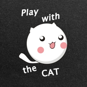 Play with the cat - Jersey Beanie