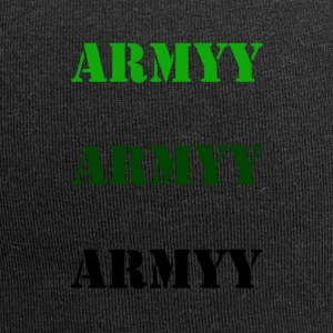 colored army slogan - Jersey Beanie