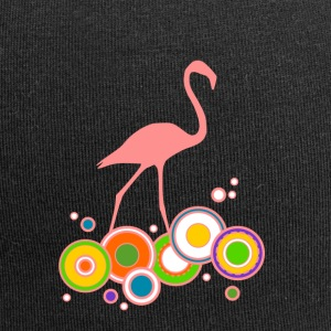 Flamingo colorful rings - Jersey Beanie