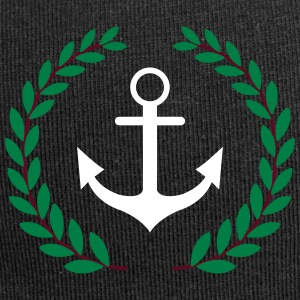 Anchor and crown - Jersey Beanie