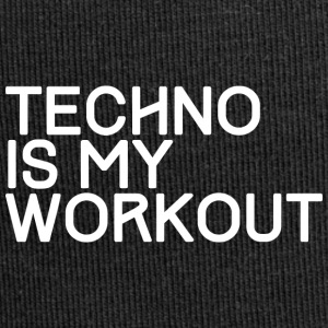 TECHNO IS MY WORKOUT - Jersey-Beanie