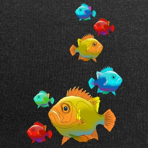 Fish perch Aquarium Ocean sea fishing water - Jersey Beanie
