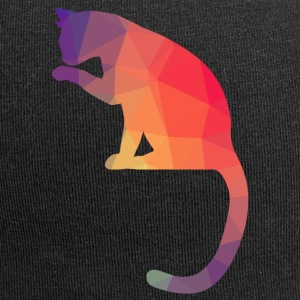 Cat Logo polygon-jern - Jersey-beanie