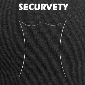 Securvety White - Sexy Curvy security. - Jersey Beanie