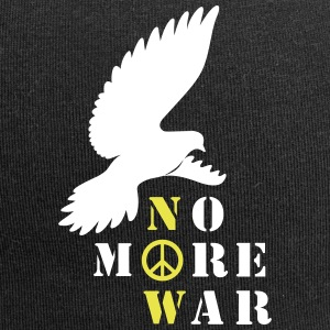No More War Now Silhouette - Jersey-Beanie