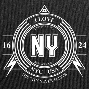 New York City Badge - Bonnet en jersey