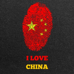 I LOVE CHINA FINGERABDRUCK T-SHIRT - Jersey-Beanie
