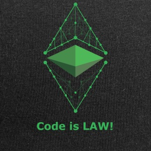 Ethereum Classic - Code is LAW! - Jersey Beanie