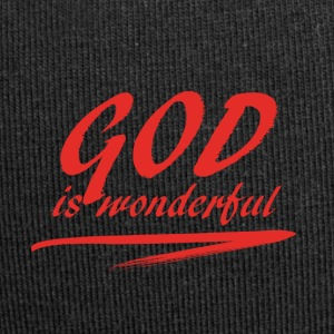 God_is_wonderful - Bonnet en jersey