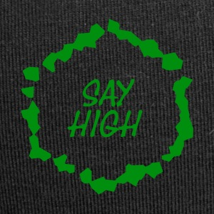SAY_HIGH_2017 - Beanie in jersey
