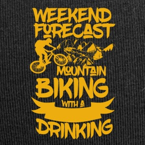 Mountainbike and Drinks - Weekend Forecast - Jersey-Beanie