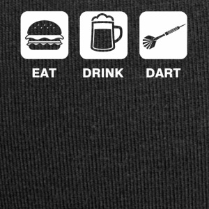 Eat Drink Dart - Bonnet en jersey