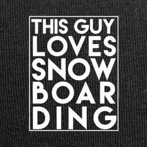 This Guy Loves Snowboarding - Boarder Power! - Jersey-Beanie