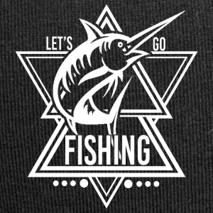 Lets go Fishing - We love fishing! - Jersey Beanie