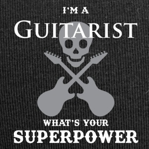 I'm a guitarist and what are your super powers ?! - Jersey Beanie