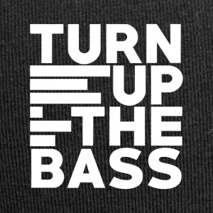 Turn up the bass - Art of Music - Jersey Beanie