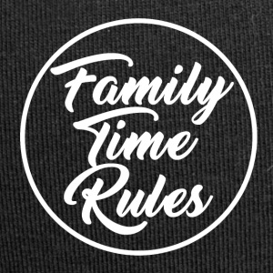 Family Time Rules - Jersey-Beanie