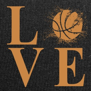 I LOVE BASKETBALL! - Jersey Beanie
