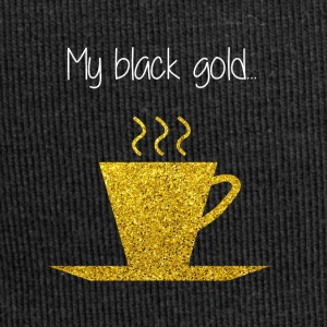 COFFEE MY BLACK GOLD - Jersey Beanie