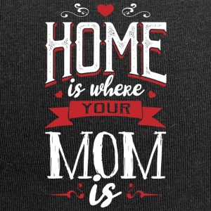 Home is where your mom is - muttertag - Jersey Beanie