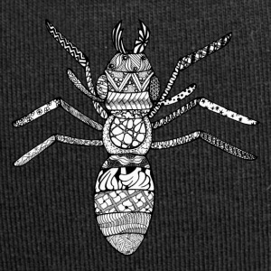 Zentangle-Ant - Jersey-Beanie