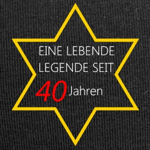 Birthday Living legend 40 - Jersey Beanie