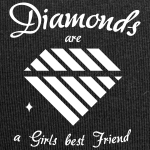 Diamonds are a Girls best Friend - Jersey-Beanie