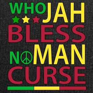 Hvem Jah Bless No Man forbandelse - Jersey-Beanie