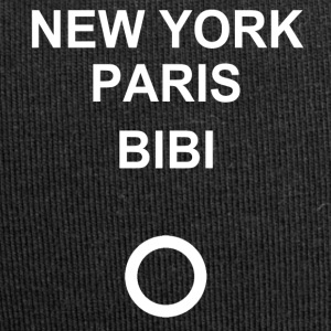 New York, Paris, Bibi! - Jersey-Beanie