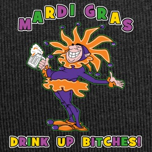 Mardi Gras Drink Up Bitches - Bonnet en jersey