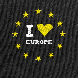 I Love europe Star Heart Stick eu no Proposed referendum on United Kingdom membership of the European Union circle l - Jersey Beanie