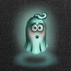 Little Turquoise Ghost - Jersey Beanie
