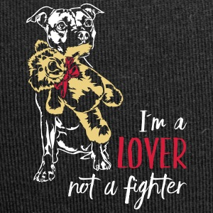 LOVER NOT A FIGHTER - Staffordshire - Jersey Beanie