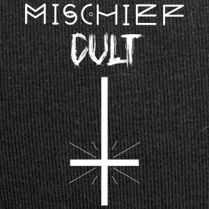 Mischief Cult | Upside Down Cross Design | Occult - Jersey Beanie
