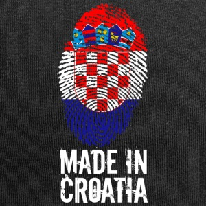 Made in Croatia / Gemacht in Kroatien Hrvatska - Jersey-Beanie