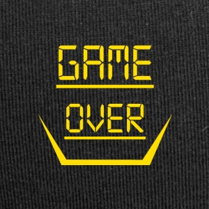 Game Over Entwurf - Jersey-Beanie