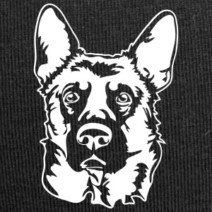 GERMAN SHEPHERD PORTRAIT - Jersey Beanie