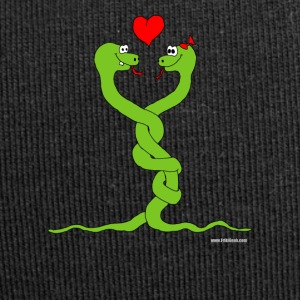 in love snakes - Jersey Beanie