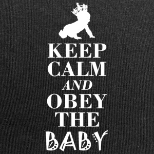 Obey the baby obeys the baby ... Just do it! - Jersey Beanie