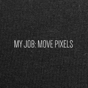 MY JOB: MOVE PIXELS - Jersey-Beanie