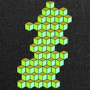 Impossible Cube T-shirt - Beanie in jersey