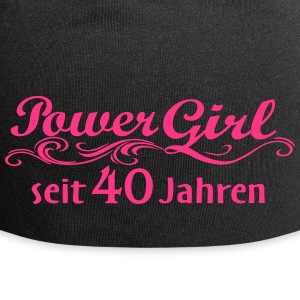 Power Girl 40 jaar - Jersey-Beanie